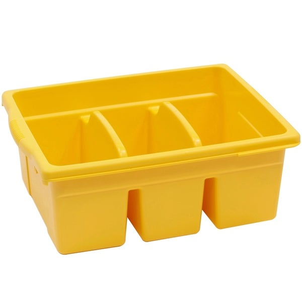 Copernicus® Leveled Reading Large Divided Book Tub, Yellow. Opens flyout.