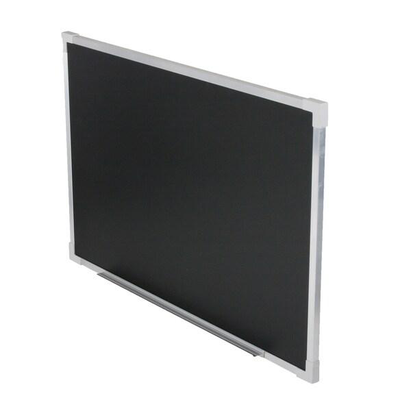 "Flipside® Aluminum Framed Chalk Board, 24"" x 36"""