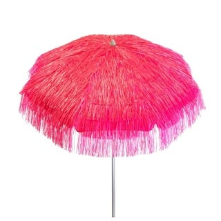 Link to DestinationGear 6 ft Tropical Pink Palapa Patio Umbrella Similar Items in Patio Umbrellas & Shades