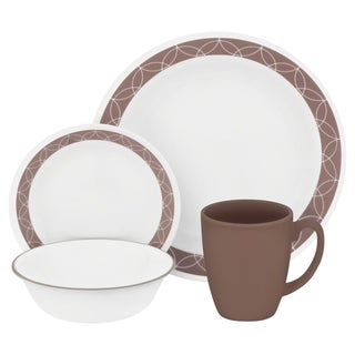 Corelle Livingware 32-Pc Set, Service for 8 (Sand Sketch)