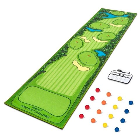 GoSports Pure Putt Challenge Mini Golf Course Putting Game