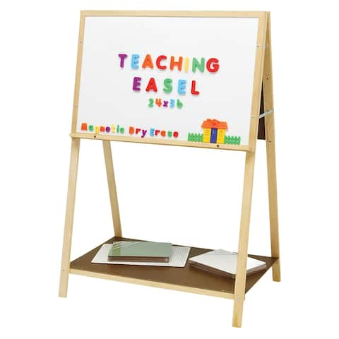 "Flipside® Magnetic Teaching Easel, 54"" H x 36"" W"
