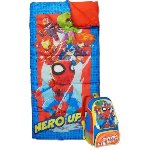 Marvel Super Hero Adventures Kids 2-Piece Backpack Kit