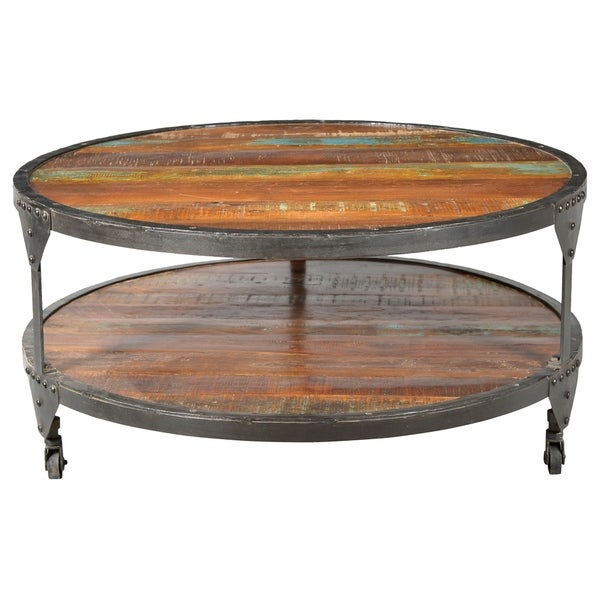 Honoria Coffee Table - 18'' H x 36'' L x 36'' W. Opens flyout.