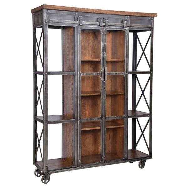 Hessler Standard Bookcase 73 H X 54 W X 17 D Overstock 30648950