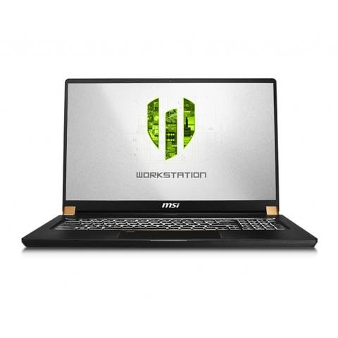"MSI WS75 9TK-1240 17.3"" Gaming Mobile Workstation - 1920 x 1080 - Xeon E-2276M - 32 GB RAM - 512 GB SSD"