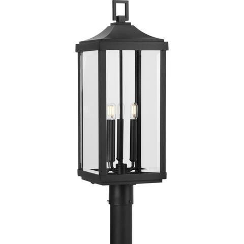 "Gibbes Street Collection Three-Light Post Lantern - 26.770"" x 13.980"" x 13.980"""