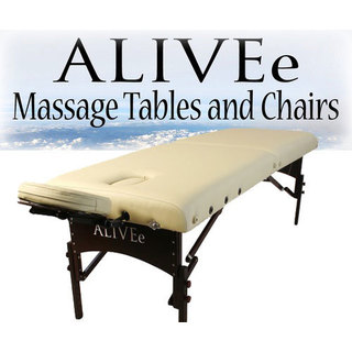 ALIVEe Signature II Dark Cream Massage Table