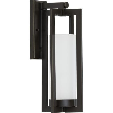 "Janssen Collection Oil Rubbed Bronze One-Light Large Wall Lantern - 22.440"" x 11.020"" x 10.630"""