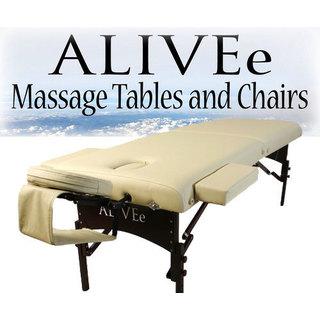ALIVEe Signature II Dark Cream Deluxe Massage Table