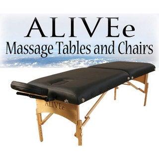 ALIVEe Signature II Light Black Massage Table