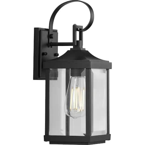 "Gibbes Street Collection One-Light Small Wall Lantern - 15.350"" x 9.840"" x 8.270"""