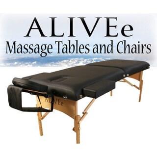 ALIVEe Signature II Black Deluxe Massage Table