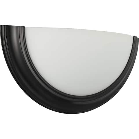 Eclipse LED Collection Black One-Light LED Wall Sconce