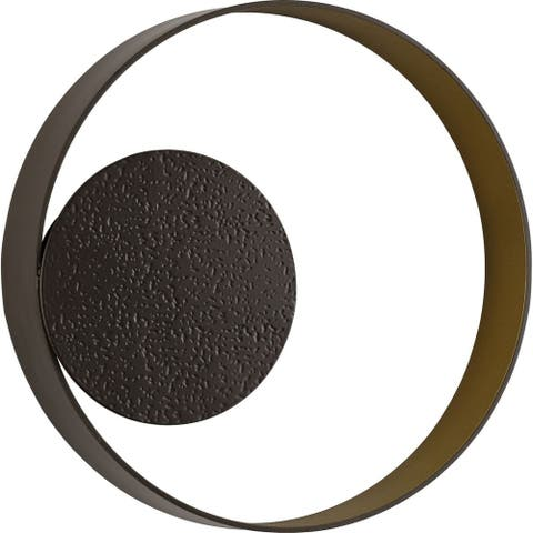 Z-2010 LED Collection Oil Rubbed Bronze One-Light LED Outdoor Wall Sconce