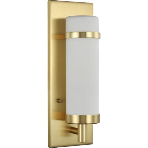 Hartwick Collection Satin Brass One-Light Wall Sconce