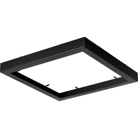 "Everlume Collection Black 11"" Edgelit Square Trim Ring - 11.460"" x 11.460"" x 1.570"""