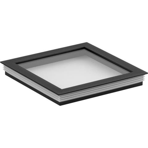 """Cylinder Lens Collection Black 6-Inch Square Cylinder Cover - 1.240"""" x 6.250"""" x 6.250"""""""