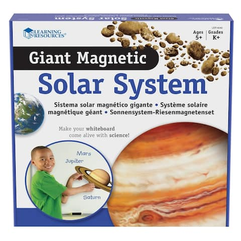 Learning Resources® Giant Magnetic Solar System Set, Set of 12