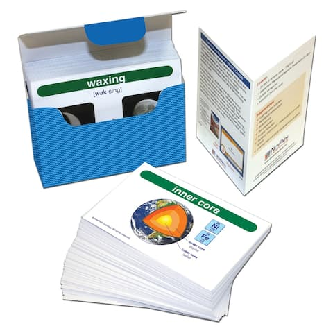 NewPath Learning® Earth Science Vocabulary Builder Flash Card Set, Middle School