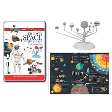 Wonders of Learning® Discover Space, Educational Tin Set