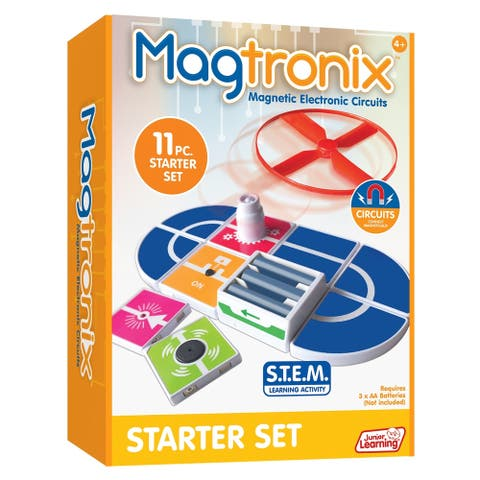 Junior Learning® Magtronix Magnetic Electronic Circuits Starter Set