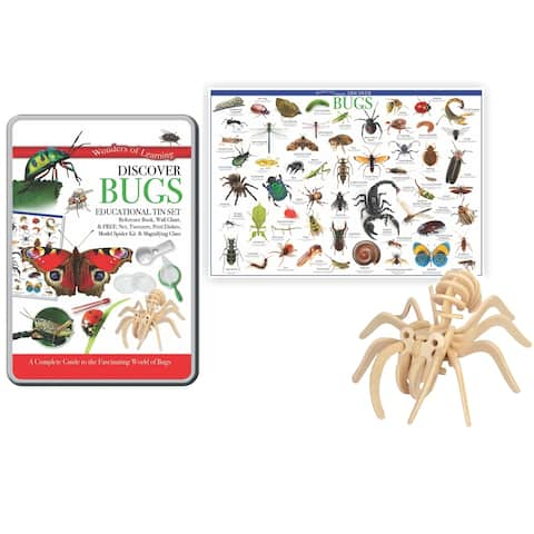 Wonders of Learning® Discover Bugs, Educational Tin Set