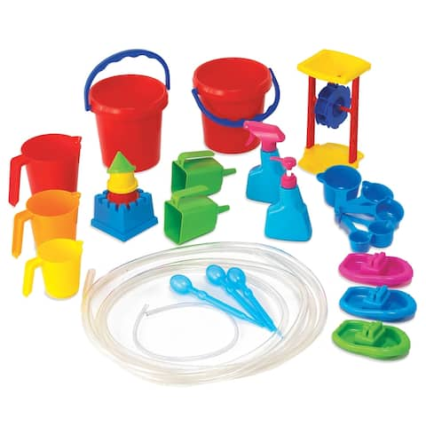 Learning Advantage® Water Play Tool Set, 27 Pieces