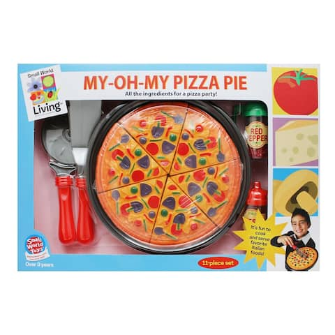 Small World Toys® My Oh My Pizza Pie, 11-Piece Play Set