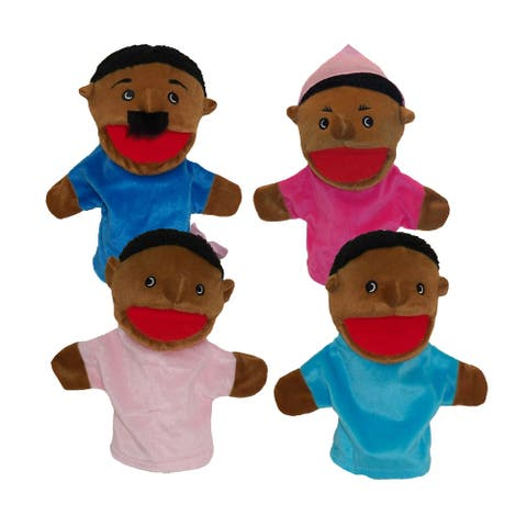 Get Ready Kids African American Family Puppets