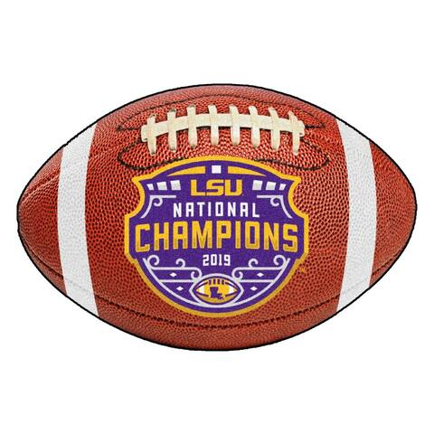 FANMATS 2019-20 LSU College Football National Champions Football Mat