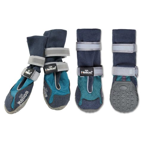 Dog Helios 'Traverse' Premium Grip High-Ankle Outdoor Dog Boots