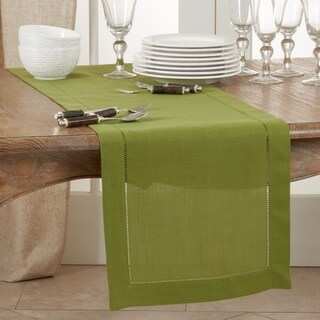 Link to Classic Hemstitch Border Table Runner Similar Items in Table Linens & Decor