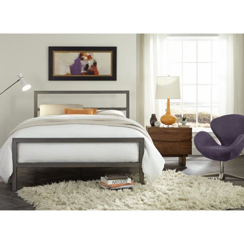 Liverpool Metal Platform Bed