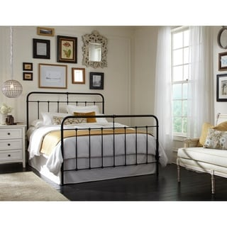 Hague Metal Low-Profile Bed