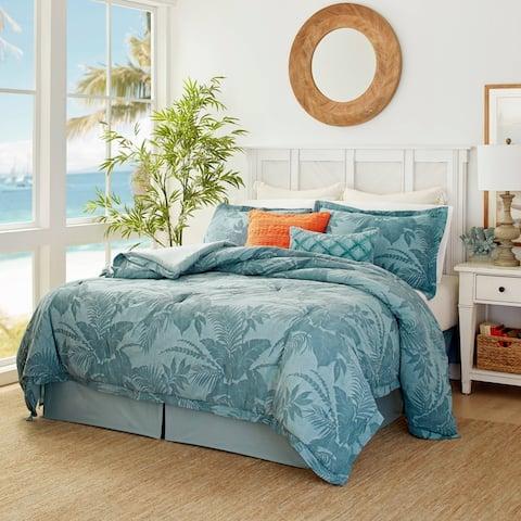 Tommy Bahama Blue Abalone Comforter Set