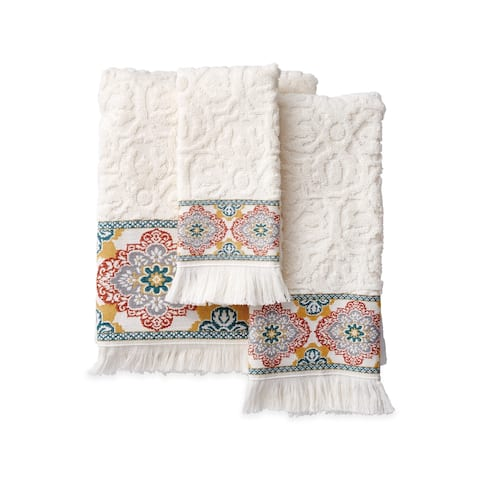 Porch & Den Noah Medallion Bath Towel