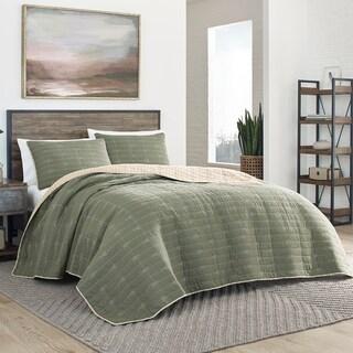 Eddie Bauer Troutdale Green Quilt Set