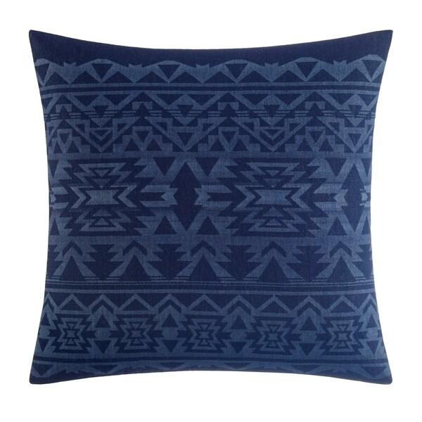 "Eddie Bauer Crescent Lake Blue 20"" X 20"" Decorative Pillow"
