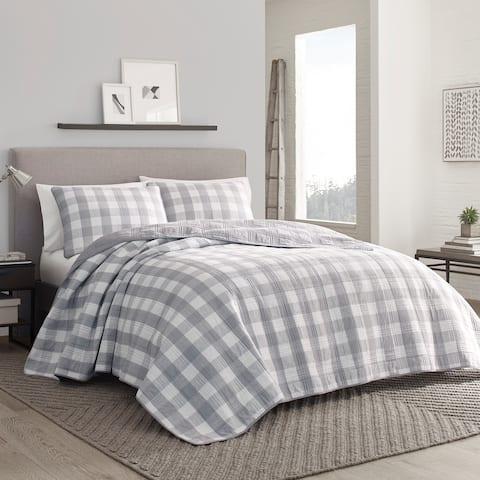 Eddie Bauer Lakehouse Grey Quilt Set