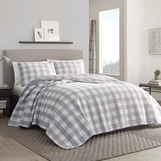 Link to Eddie Bauer Lakehouse Grey Quilt Set Similar Items in Quilts & Coverlets