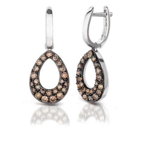 Encore by Le Vian 14K White Gold 1 ct Chocolate Diamonds® Earring