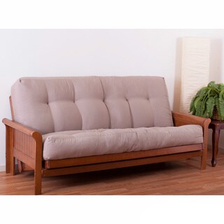 Medium image of porch  u0026 den wolfchase guthrie 10 inch full size futon mattress
