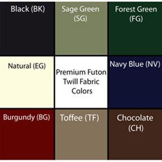Tufted Cotton/ Foam Full-size 6-inch Futon Mattress (Only) (Option: Burgundy)