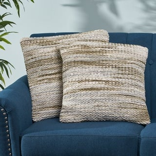 Brendan Boho Fabric Pillow Cover (Set of 2) by Christopher Knight Home