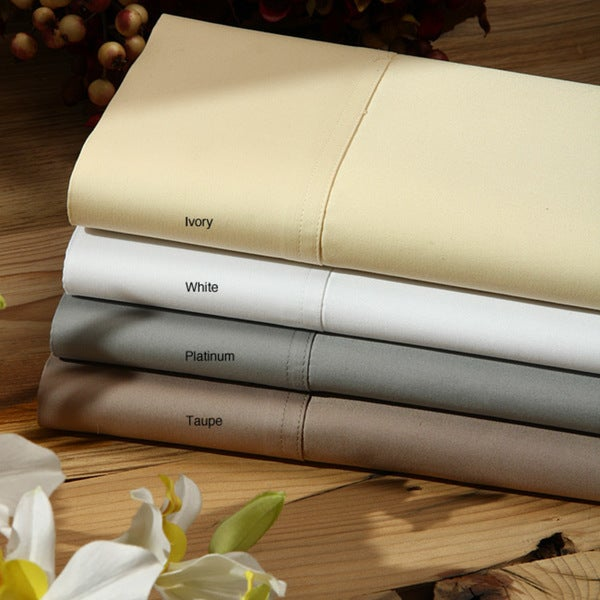 Supima Sateen 1000 Thread Count 3-piece Duvet Cover Set