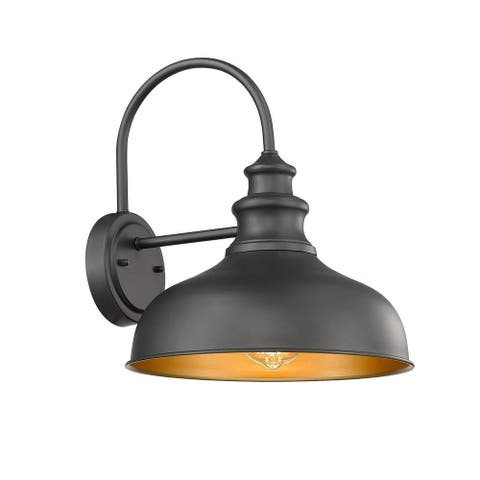 Outdoor Wall Sconce for Porch with Contrast Color Interior
