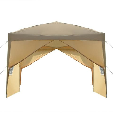 3 x 3m Practical Waterproof Folding Tent 3 Colors