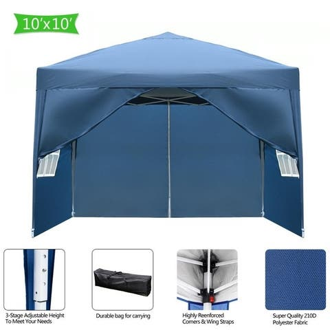 3 x 3m Practical Waterproof Folding Tent 3 Colors