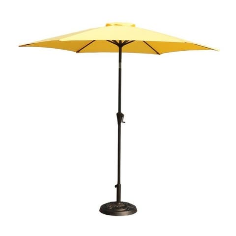 9 Feet Pole Umbrella with Carry Bag and Base